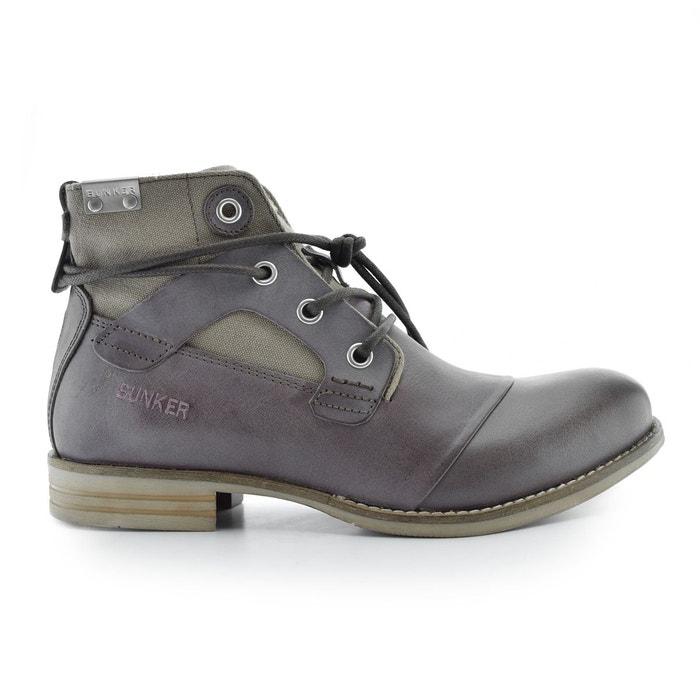 02d870220 Boots cuir à lacets Yon