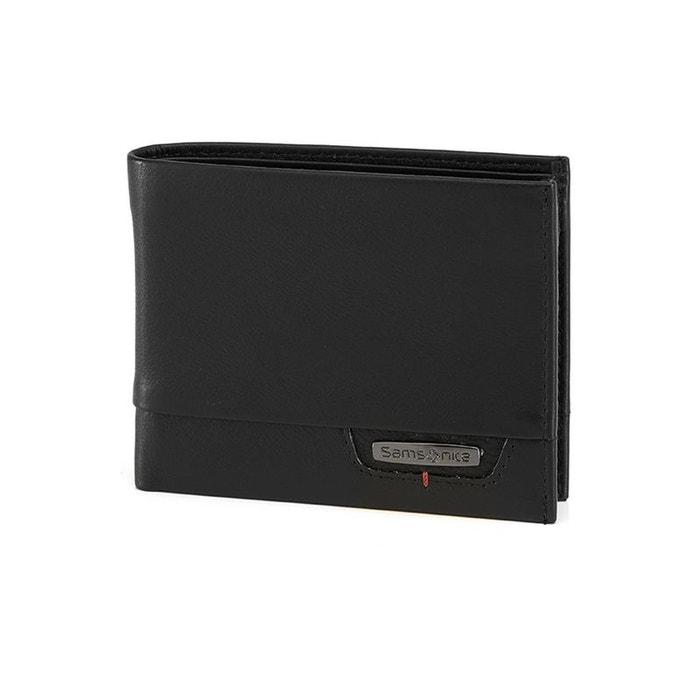 4e075f1d4b8 Pro-dlx 4s slg portefeuille cuir noir Samsonite | La Redoute