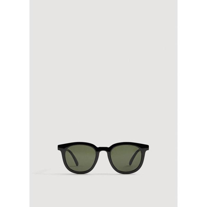 Lunettes de soleil monture plastique noir Mango Man   La Redoute Vente Wiki Recherche En Ligne Magasin Avec Grand Escompte Acheter Dernières Collections Bon Marché Offres En Vente En Ligne 8XbDzruq