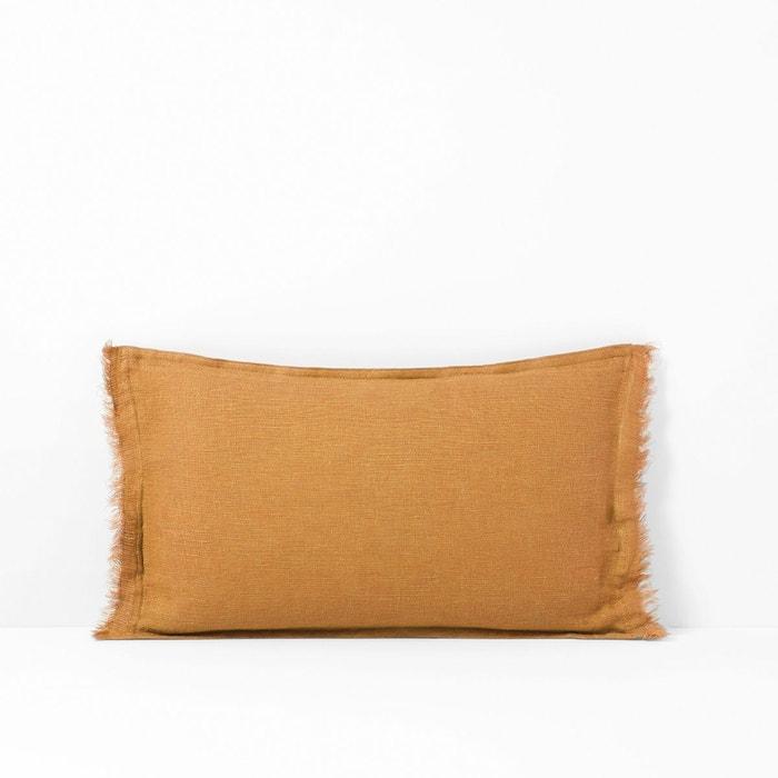 housse de coussin lin lav qualit best linange la redoute. Black Bedroom Furniture Sets. Home Design Ideas