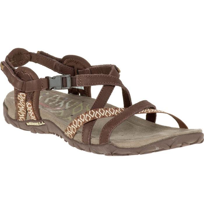 Terran lattice 2 - sandales femme - marron marron Merrell