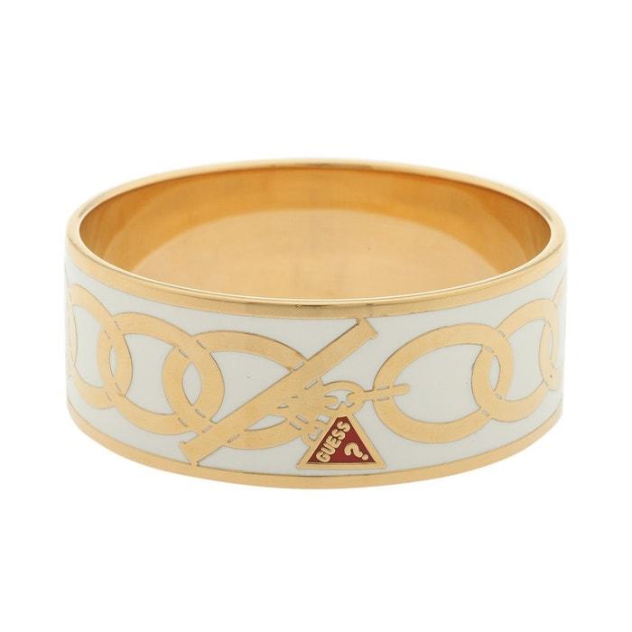 Bracelet femme ubb30913 blanc/or Guess | La Redoute Réel Pas Cher En Ligne Qualité En Ligne Pas Cher zciU2