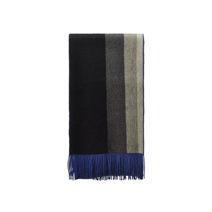 Echarpe en laine king noir Vente Wiki WIoUQ