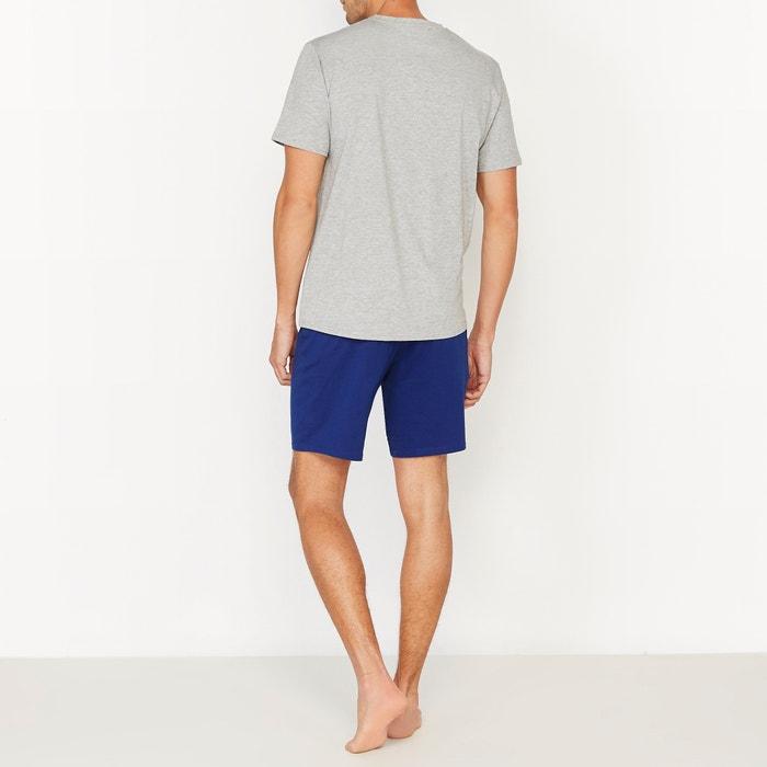 Pyjashort bicolore en jersey de coton  La Redoute Collections image 0