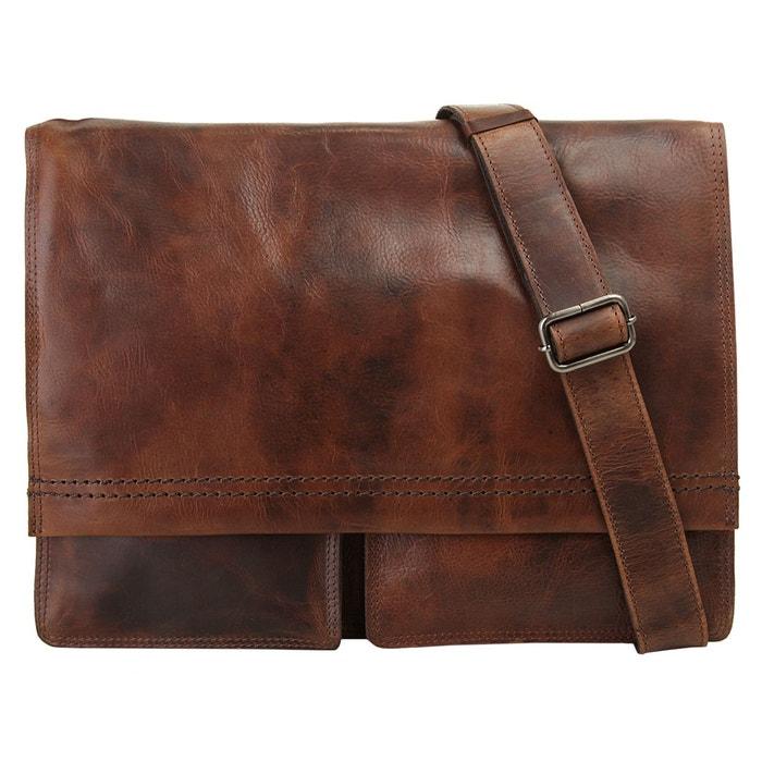 b9639b828e Sacoche pour ordinateur portable saddle marron Harold's | La Redoute