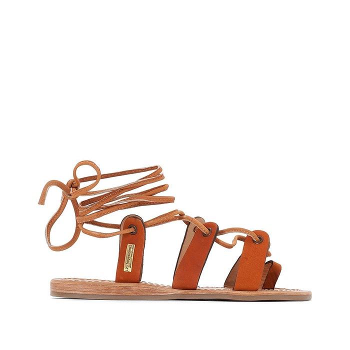 sandales cuir bakio les tropeziennes par m belarbi la redoute. Black Bedroom Furniture Sets. Home Design Ideas