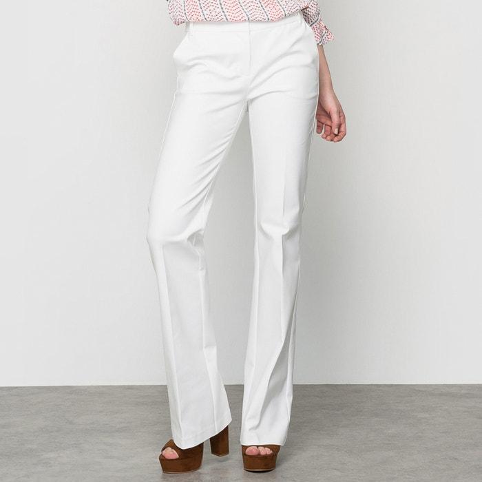 Image 48% Cotton Bootcut Trousers atelier R