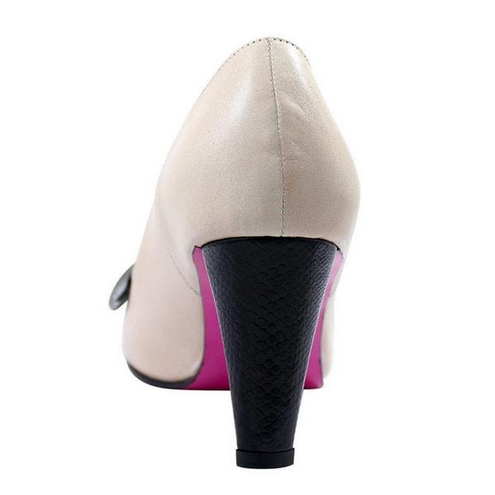 Pring Paris Shoe Woman In Caramel Leather