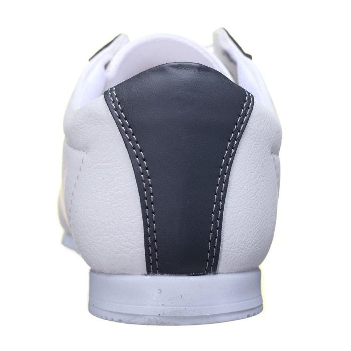 Basket basses à lacets blanc Goor