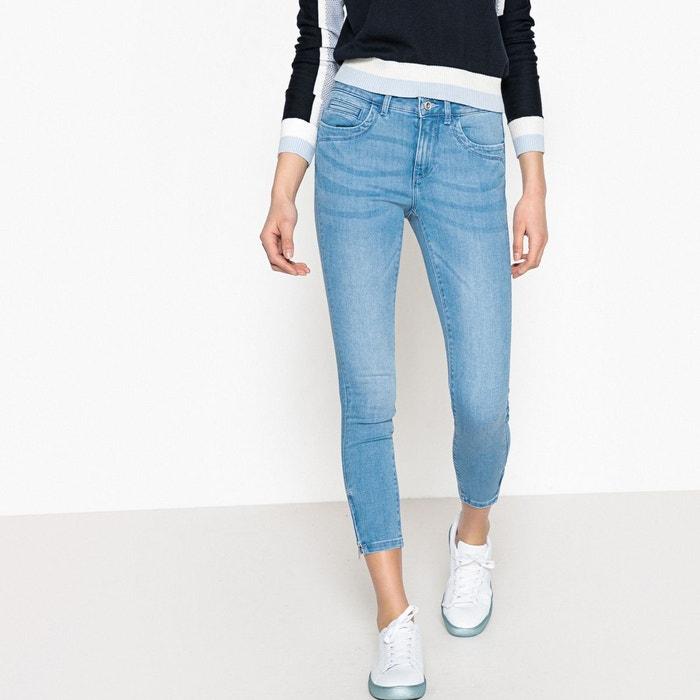 jean skinny taille standard denim bleu clair only la redoute. Black Bedroom Furniture Sets. Home Design Ideas