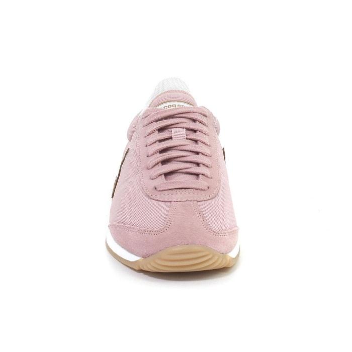 Baskets quartz rose Le Coq Sportif