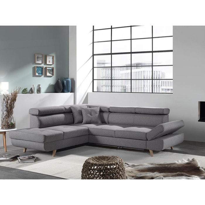 canap d 39 angle gauche convertible scandinave linea. Black Bedroom Furniture Sets. Home Design Ideas