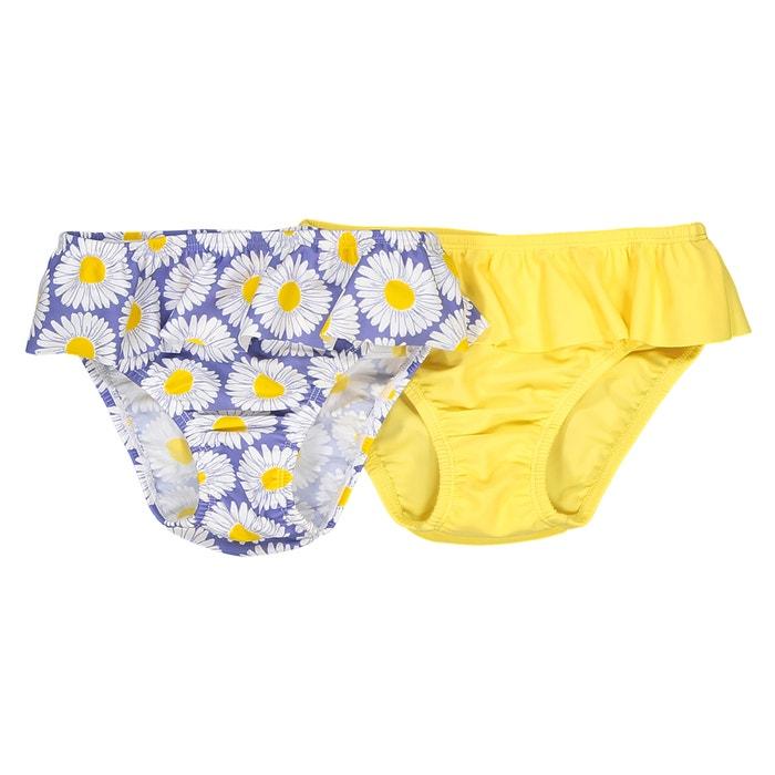 Pack of 2 Ruffle Bikini Bottoms  La Redoute Collections image 0