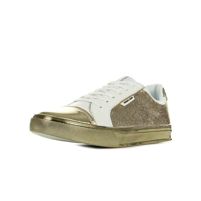 Jeu Confortable Vente Style De Mode Pas Cher Sneaker donna disc3 easy leath glitter doré c4R0ty