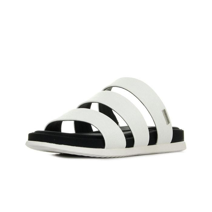 Baskets femme dalana birch saffiano white noir/blanc Calvin Klein Acheter La Meilleure Vente Pas Cher TQlrASfHW