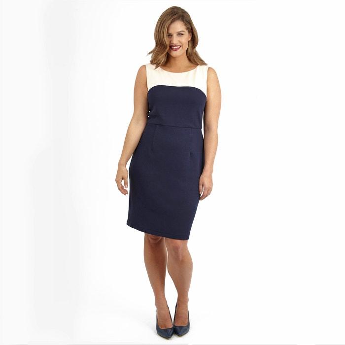 Two-Tone Bodycon Dress  LOVEDROBE image 0