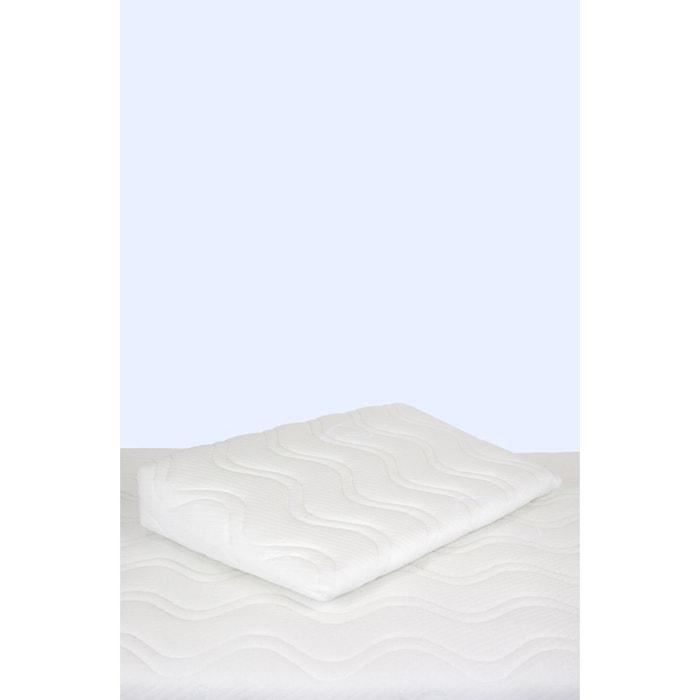 plan inclin m moire de forme pour lit 60cm x 120cm blanc kadolis la redoute. Black Bedroom Furniture Sets. Home Design Ideas