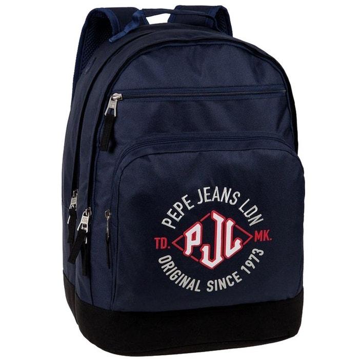 Grand sac à dos laptop bleu pépé jeans couleur unique Cbk | La Redoute Vente Pré Commande En Ligne réductions OEoTm
