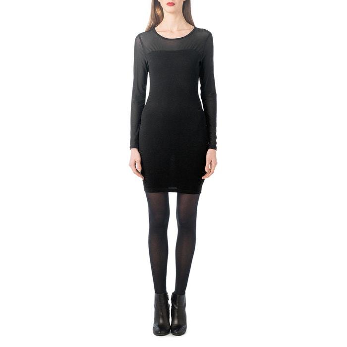 afbeelding Aansluitende jurk in tricot en voile BEST MOUNTAIN