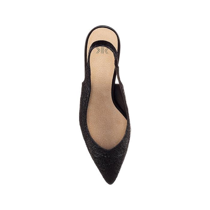 Collections 225;s con efecto Redoute abiertos La 243;n tac detr de arrugado Zapatos U8zz5Tfqw