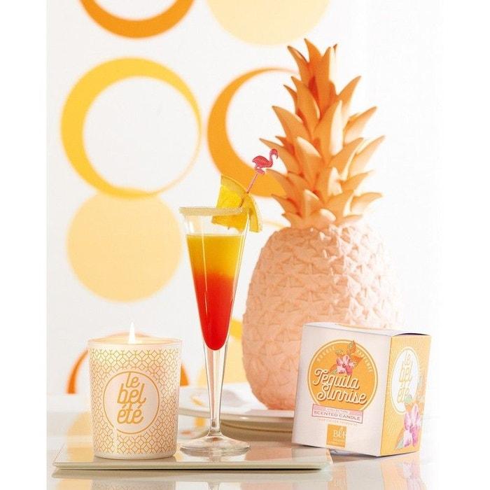 Coffret bougie parfumée 40h Tequila Sunrise