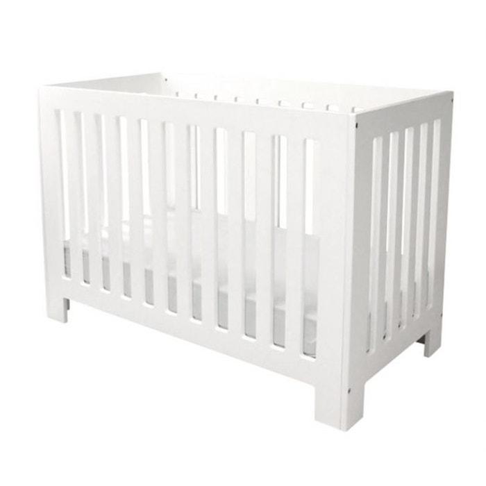 lit b b marshmallow blanc fdtc la redoute. Black Bedroom Furniture Sets. Home Design Ideas
