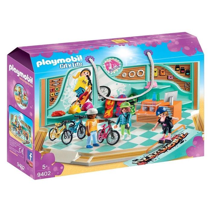 Playmobil 9402 city life - boutique de skate et vélos Playmobil  e7ebf825965
