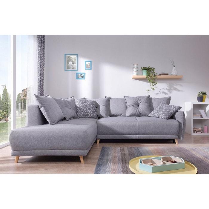 canap scandinave d 39 angle gauche lena gris bobochic la. Black Bedroom Furniture Sets. Home Design Ideas