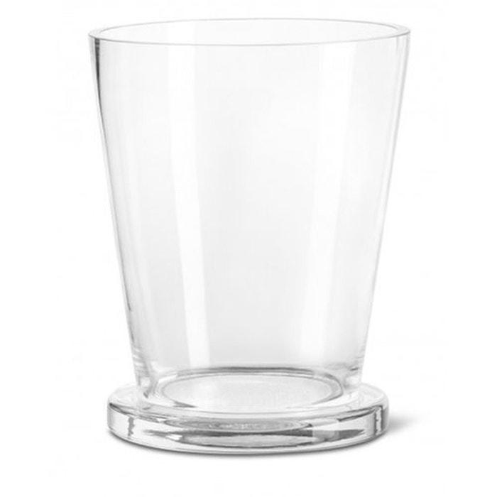 photophore verre vas 20cm pour bougie cylindrique. Black Bedroom Furniture Sets. Home Design Ideas