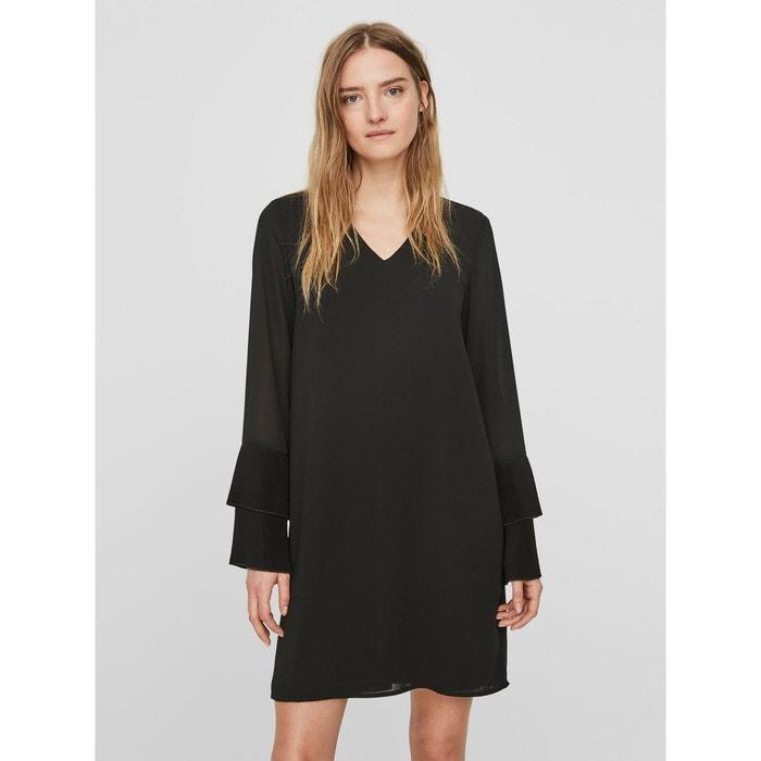 Robe à manches longues féminin black Vero Moda  781b257242b