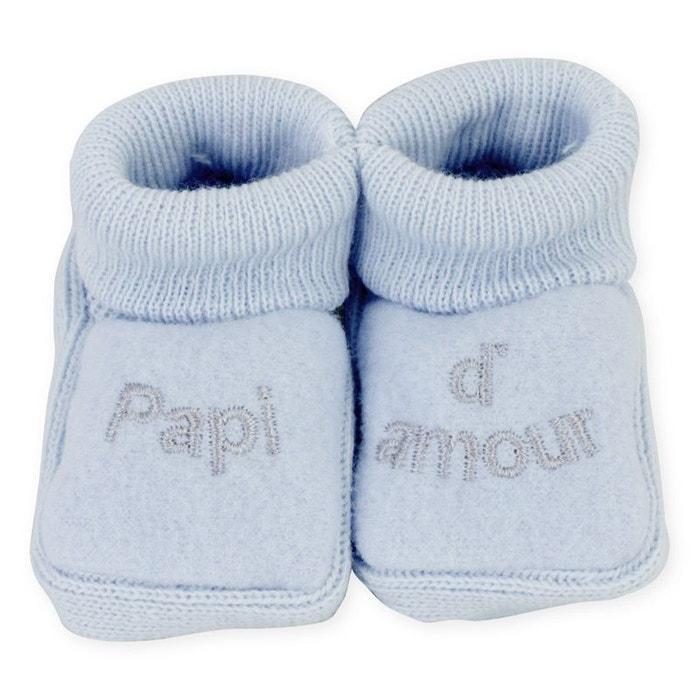 2 paires de chaussons PAPI D'AMOUR qHOw7ZMc9K