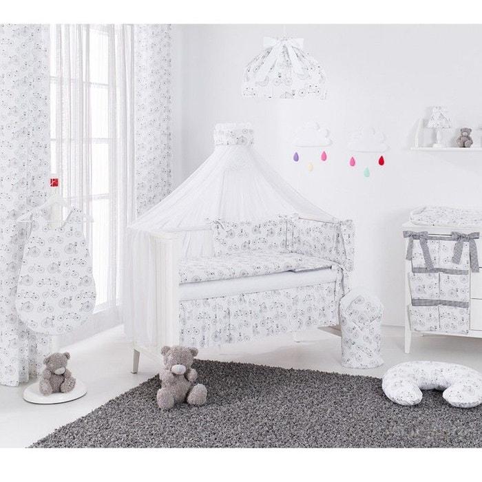 rideaux pour chambre d 39 enfant v los parisien blanc sevira kids la redoute. Black Bedroom Furniture Sets. Home Design Ideas