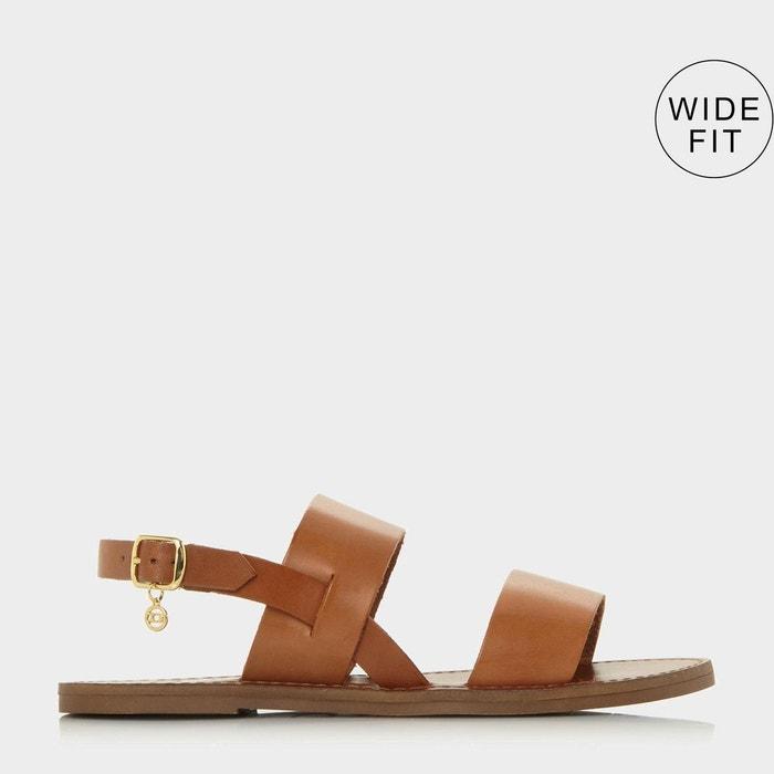 sandales pieds larges