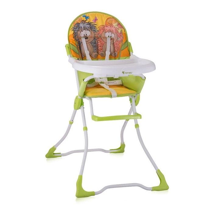 chaise haute pour b b candy multicolor lorelli couleur unique lorelli la redoute. Black Bedroom Furniture Sets. Home Design Ideas