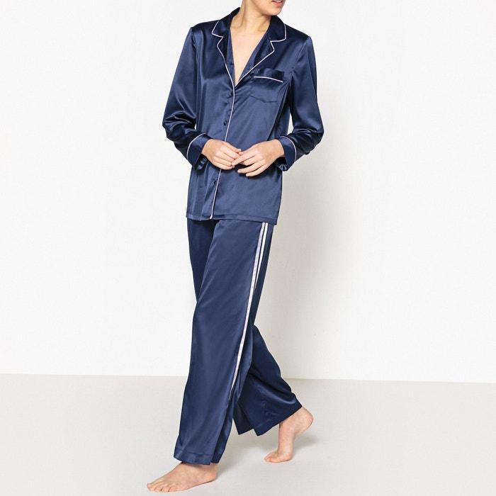 Classic Satin Feel Pyjamas  La Redoute Collections image 0