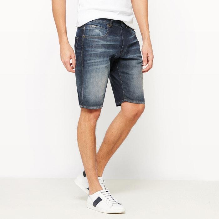 Baily Stretch Cotton Denim Shorts