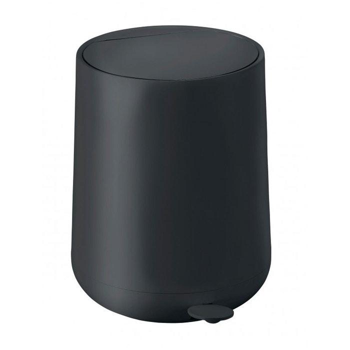 poubelle de salle de bain design noire soft touch 5l noir wadiga la redoute. Black Bedroom Furniture Sets. Home Design Ideas