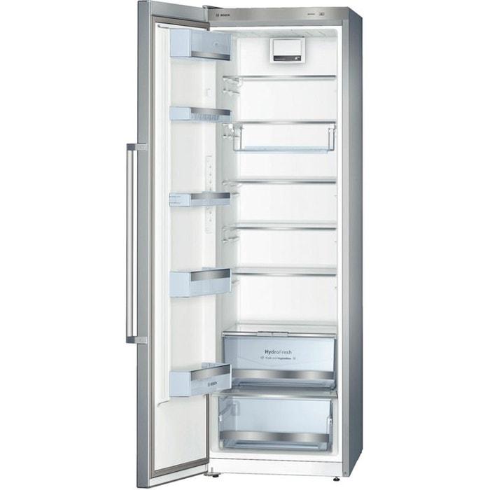 Bosch r frig rateur 1 porte premium ksv36bi30 inox - Refrigerateur noir 1 porte ...