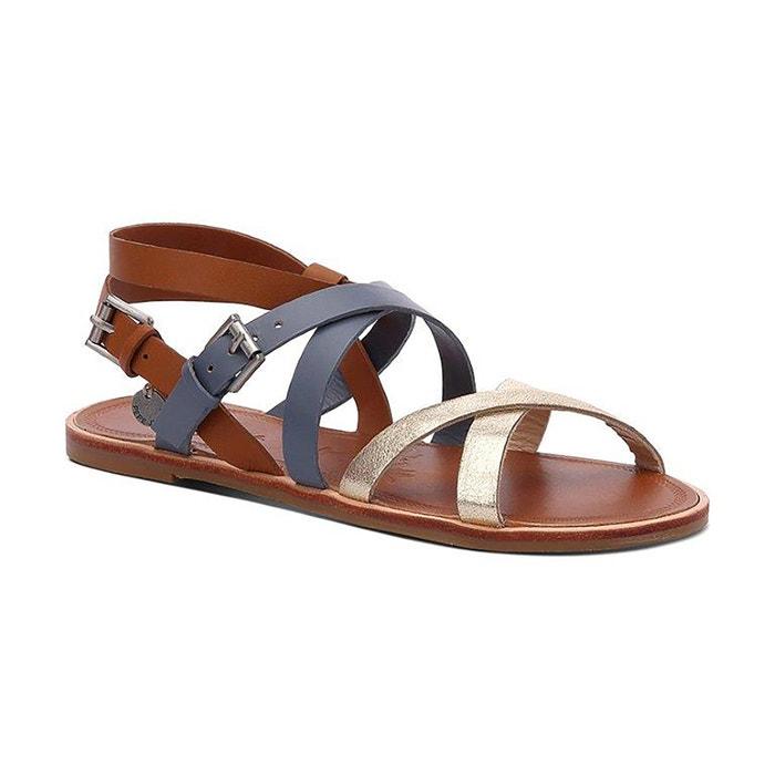 Image Arizona Leather Sandals PEPE JEANS
