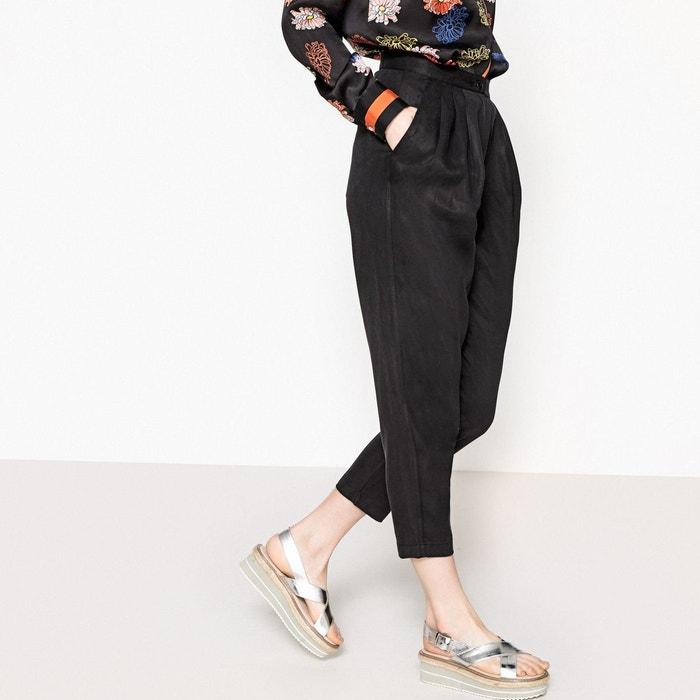 pantalon carotte 7 8 me la redoute collections la redoute. Black Bedroom Furniture Sets. Home Design Ideas