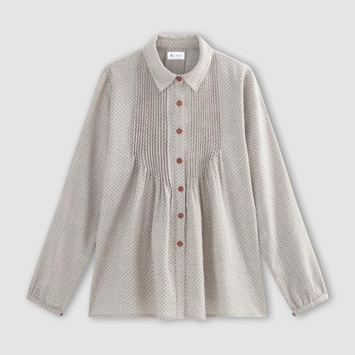 Redoute franela microlunares Collections de Camisa La con wO8PqHwnd