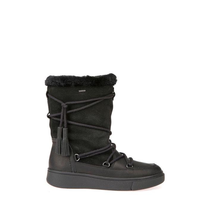 Boots fourrés mayrah noir Geox Acheter Pas Cher 2018 Livraison Gratuite À La Mode Le Plus Grand Fournisseur En Ligne Ik9itor7Yy