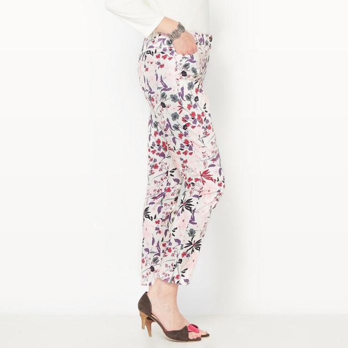 afbeelding 7/8 broek, stretch satijnkatoen ANNE WEYBURN