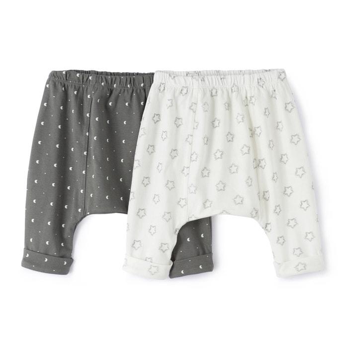 Confezione da 2 Pantaloni alla turca 0 mesi – 2 anni  La Redoute Collections image 0
