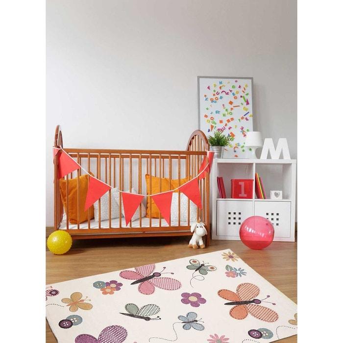 tapis papillons pastel tapis enfants par unamourdetapis blanc un amour de tapis la redoute. Black Bedroom Furniture Sets. Home Design Ideas
