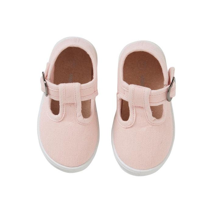 6ddb50175eb70 Sandales salomés bébé fille premiers pas Vertbaudet