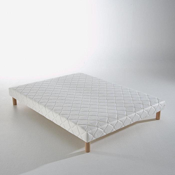 sommier lattes recouvertes blanc reverie la redoute. Black Bedroom Furniture Sets. Home Design Ideas