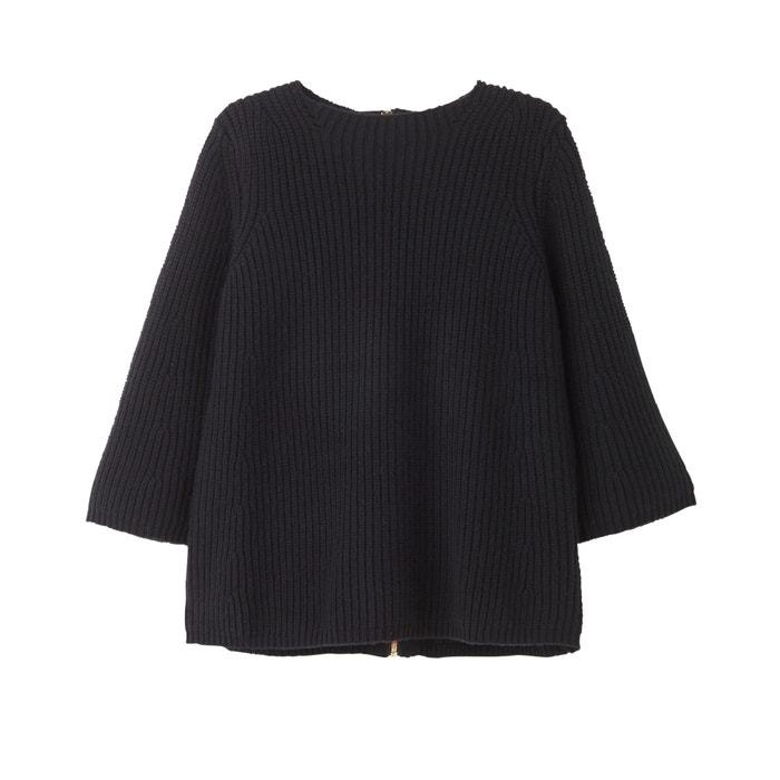 Пуловер с круглым вырезом доставка