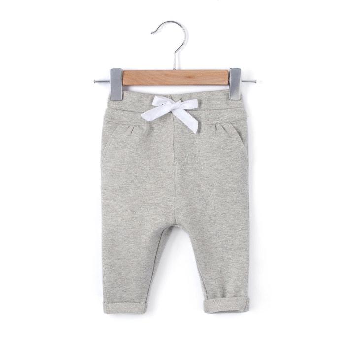 Pantaloni felpa con fiocco 1 mese - 3 anni  La Redoute Collections image 0