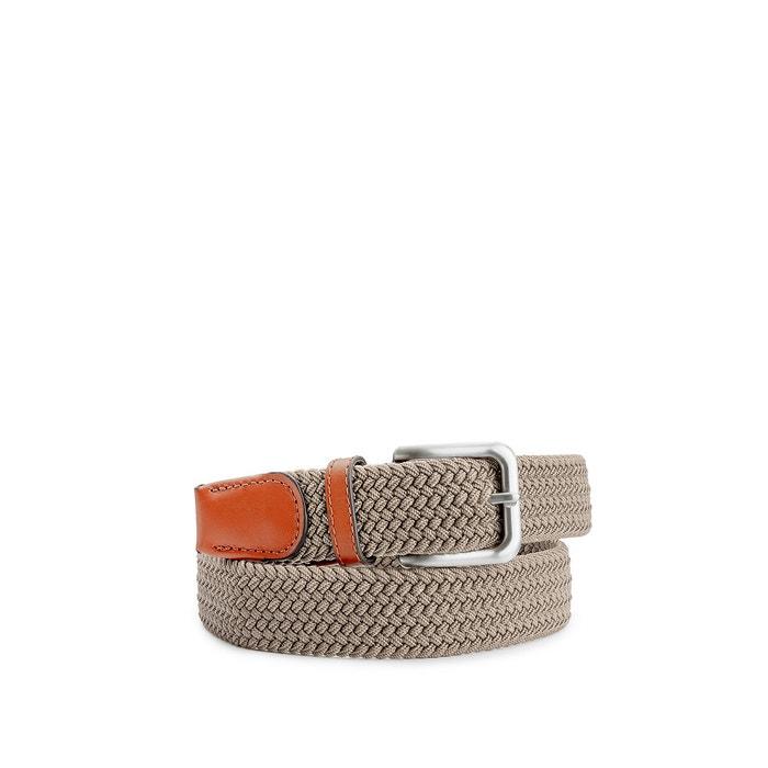 Jack /& Jones Woven Belt Mens Textile Leather Classic Summer Jacspring